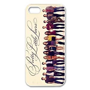 PhoneCaseDiy Hot TV Series Case For Iphone 5 Pretty Little Liars Custom Case Plastic Hard Case Ip5-AX50541 by mcsharks