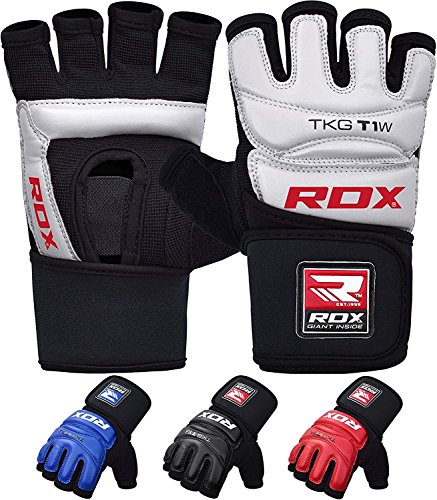 RDX Taekwondo Gloves Training Martial Arts Boxing Sparring TKD Punch Bag Mitts MMA Grappling Karate Fighting