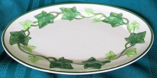 Franciscan Earthenware Ivy Platter 11-1/2 X 8-1/2 #19-71