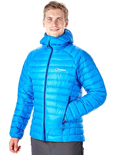 Berghaus Furnace Hooded Down Jacket blue lemonade/blue lemona