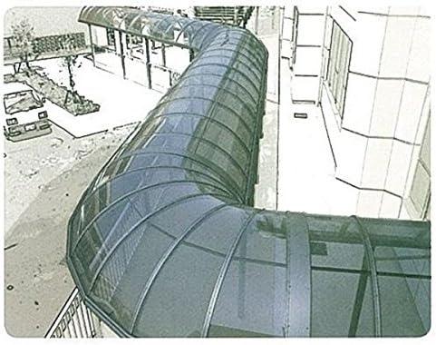 【欠品中】三菱ケミカル ポリカ板 ステラ 縦100~910×横1001~2000 厚み2(単位はmm) 『カーポート・テラスの屋根の修理、雨漏りなどのメンテナンスやリフォームをDIYで』 グレースモークマット