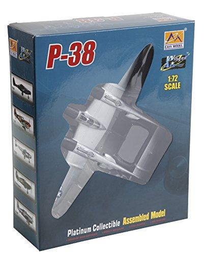 - Easy Model 36430 1:72-P-38 Pre Built Model, Various