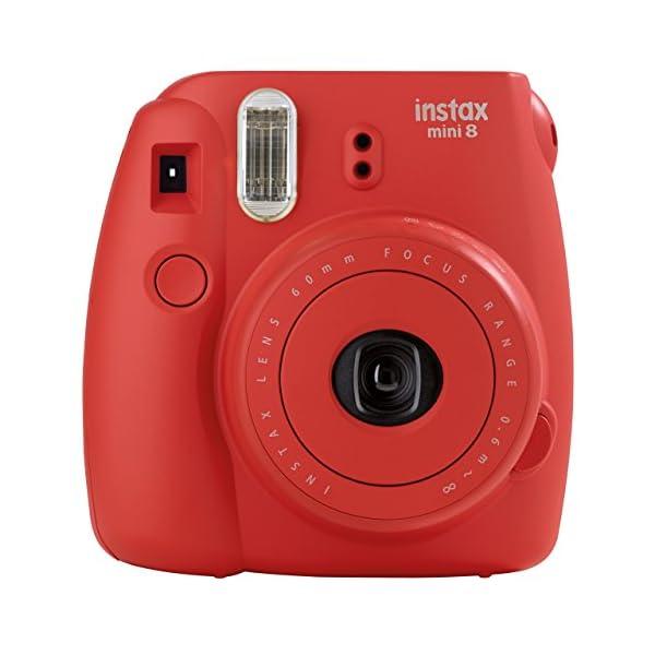RetinaPix Fujifilm Instax Mini 8 Value Cam (Raspberry)