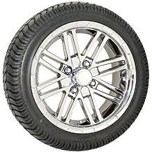 Best Turf West-SP 205x30-14 Ultra GT on 14x6 split 8spk Spider Vacuum Chrome