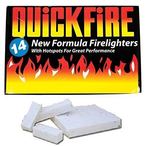 Fire Lighters Quickfire Firelighters Bulk Pack Hotspots Burners BBQ COAL LIGHTERS WOOD BURNERS Globatek