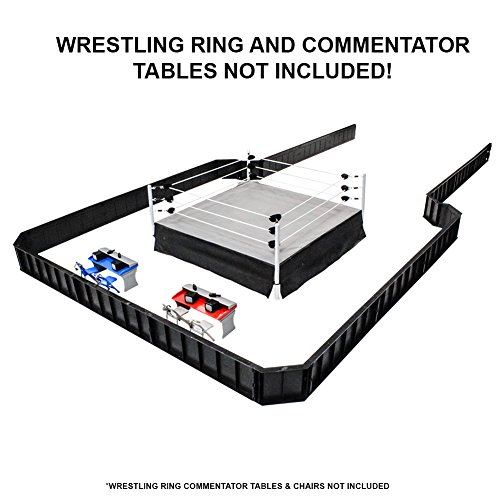 Ultimate Wrestling Ring Barricade Playset for WWE Wrestling Action -