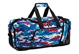Speedo Teamster Duffle Bag, 38 L, Red/White/Blue