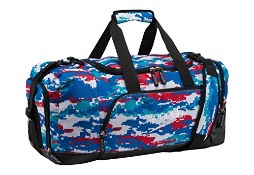 Speedo Teamster Duffle Bag, 38 L, Red/White/Blue ()
