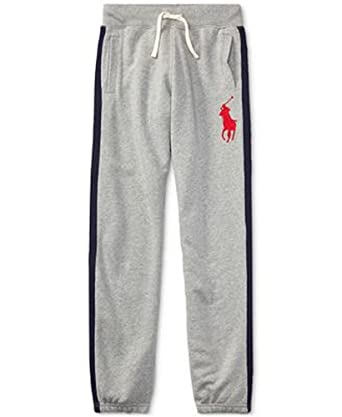RALPH LAUREN Polo Boys Big Pony Pull on Fleece Sweat Pants (XL 18. -