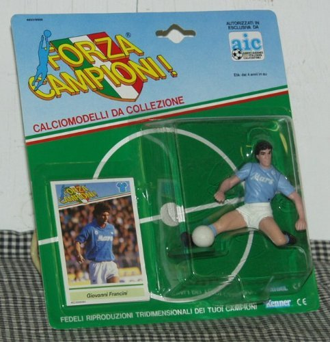 Kenner Forza Campioni! Giovanni Francini Toy Soccer Player Figure (Best Italian Football Players)
