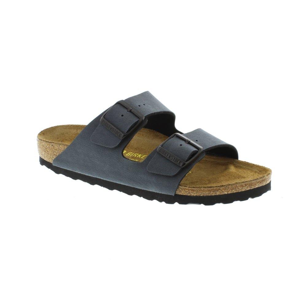 Birkenstock Unisex Arizona Narrow Fit - Basalt 651163 (Grey) Womens Sandals 35 EU