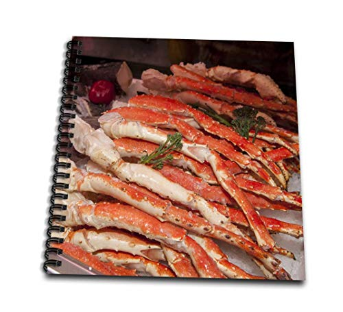 3dRose db_144675_3 Use, Massachusetts, Boston, Market King Crab Legs Us22 Jen0084 Jim Engel Brecht Mini Notepad, 4