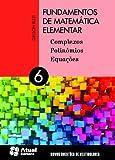 capa de Fundamentos de Matemática Elementar - Volume 6