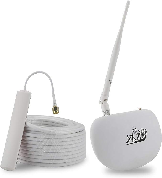 ATNJ KS-C1 CDMA 850 - Kit de Antenas para Amplificador de señal de teléfono móvil para habitación pequeña, 1200 pies Cuadrados, para Verizon AT&T