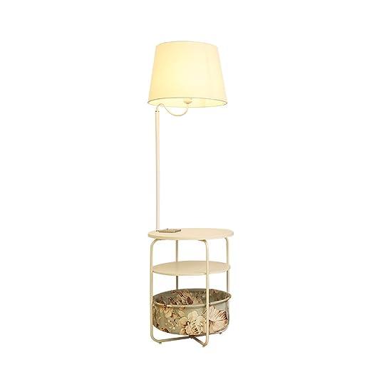 Lámpara de pie Dormitorio de la sala de estar Dormitorio Bandeja ...