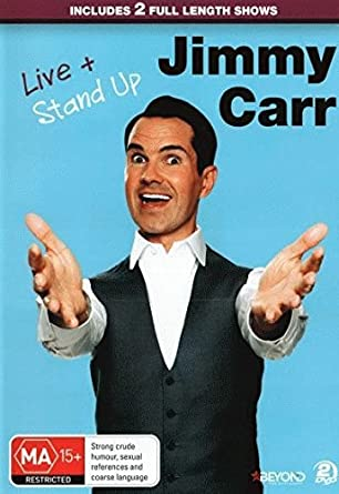 Amazon Com Jimmy Carr Live Stand Up Non Usa Format Pal Region