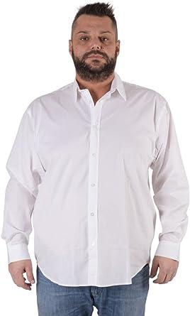 Maxfort Camisa de tallas fuertes para hombre, modelo London de manga larga
