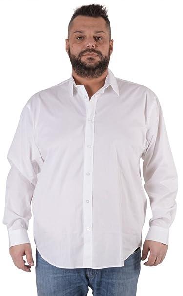 4e4ce9e9e1db Maxfort Camicia Taglie Forti Uomo Modello London Manica Lunga  Amazon.it   Abbigliamento