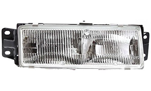 1992 Oldsmobile Cutlass Ciera (Evan-Fischer EVA13572013878 New Direct Fit Headlight Head Lamp for CUTLASS CIERA 91-96 RH Assembly Halogen With Bulb(s) Passenger Side Replaces Partslink# GM2503145)