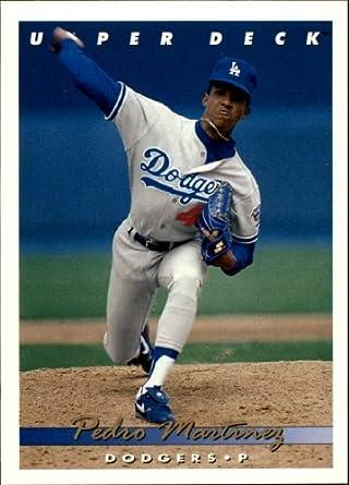 Amazoncom 1993 Upper Deck Baseball Card 324 Pedro