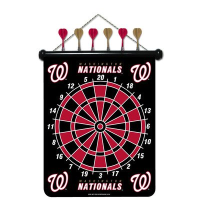 MLB Dart Board Set MLB Team: Washington (Mlb Team Darts)