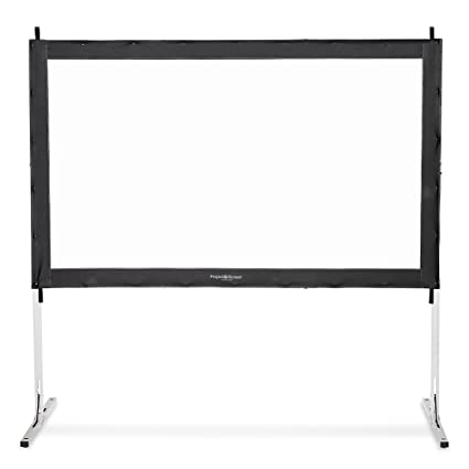 Nice Visual Apex Projector Screen 120u0026quot; 4K Portable Indoor/Outdoor Movie  Theater Fast Folding