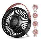 quiet mini desk fan - USB Desk Fan, multifun Mini Personal Desk Fan, Computer Table Adjustable Fan Quiet Operation, Small Portable USB Fan for Office, Home, Study and Outdoor Travel Use