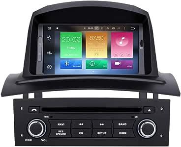 Renault Megane 2 II 1 DIN Android Auto Radio GPS Navi pantalla ...