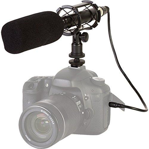 Kodak MIC-711 Condenser Shotgun Video Microphone with (Professional Supercardioid Shotgun)