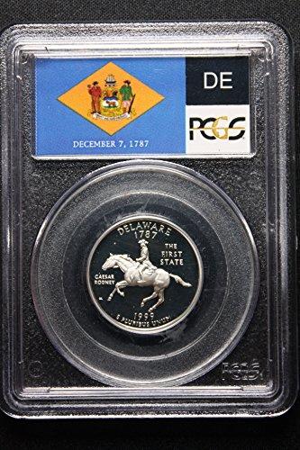 1999 S Washington State Quarter Silver Proof Delaware Quarter PR-70 PCGS DCAM (1999 Delaware State Quarter)