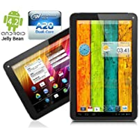 9.0 Google Android 4.2 JB Dual-Core WiFi Tablet PC Capacitive HDMI DualCam NEW