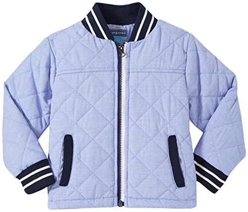 Toddler Evan Andy amp; Jacket Chambray Blue Quilted XXvfqw