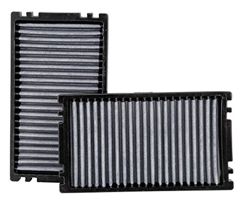 K&N VF1000 Washable & Reusable Cabin Air Filter -  Cleans and Freshens Incoming Air for your Silverado, Avalanche, Escalade, Sierra, Yukon