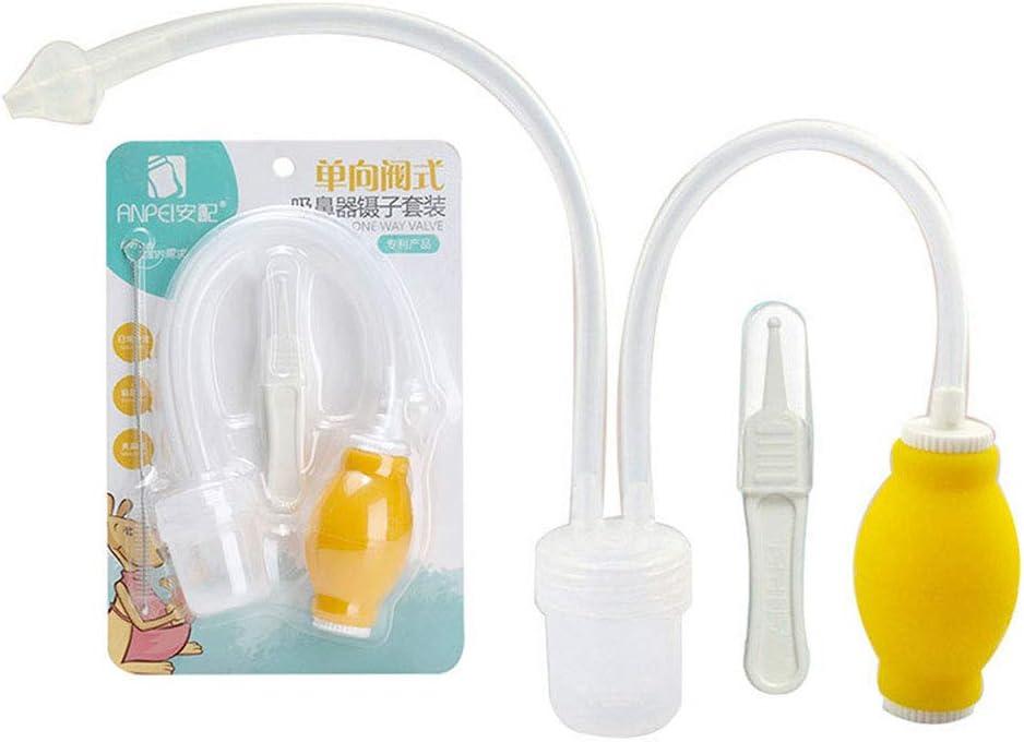 HEALIFTY Aspirador nasal higiénico antirreflujo limpiador de nariz ...