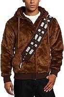 CosplaySky Star Wars Chewbacca Hoodie Jacket Furry I Am Chewie Sweatshirt Costume