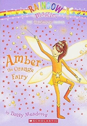 Amber: The Orange Fairy (Rainbow Magic: The Rainbow Fairies, No. (Green Amber Center)