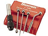 Starrett S828HZ Wiggler and Center Finder Complete with Case and 4 Attachments