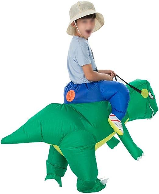 Egosy Traje Inflable Disfraz De Dinosaurio T Rex Traje De Montar ...