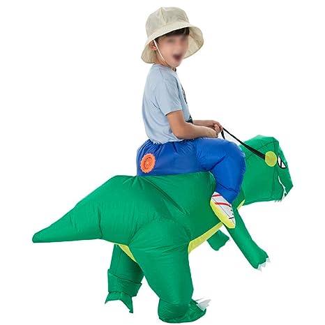 Egosy Traje Inflable Disfraz De Dinosaurio T Rex Traje De ...