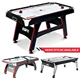 ESPN Air Hockey Game Table: Indoor Sports Gaming