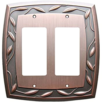 ALLEN ROTH SINGLE Duplex Outlet Cover Oil Bronz