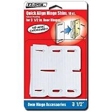 """EZ-SHIM HS350BP 3.5"""" Hinge Shim (18 Pack)"""