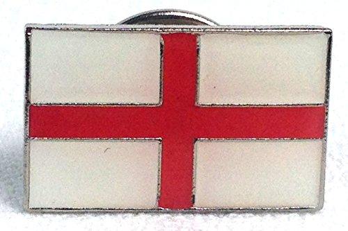 ENGLAND - Saint George's Cross - British Flag - UK Imported Enamel Lapel Pin