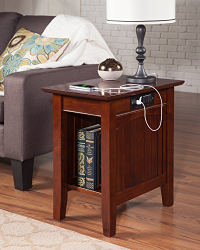 The 10 best wedge end table with cup holders 2020
