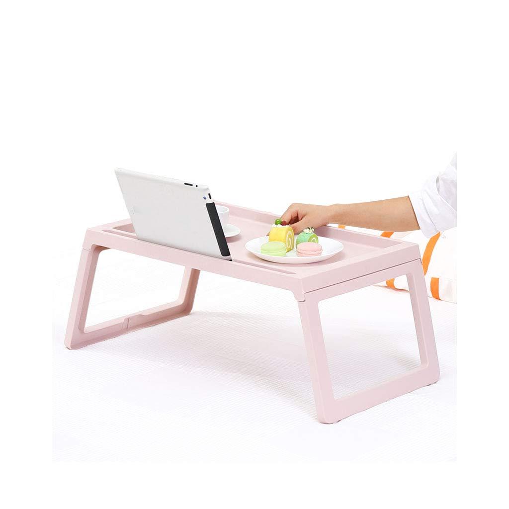 Xz max Mesa Mesa Plegable para computadora portátil Mesa Mesa Multifuncional Lazy Table Mini Simple Escritorio pequeño Almacenamiento Plegable (Color : A, Tamaño : 54.5  36CM) cd917e