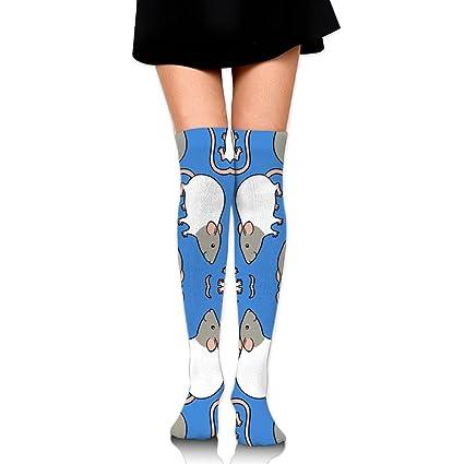 3c9de0cfc2e00 Amazon.com: Pihs27xds Cute Rats Compression Socks for Men & Women ...
