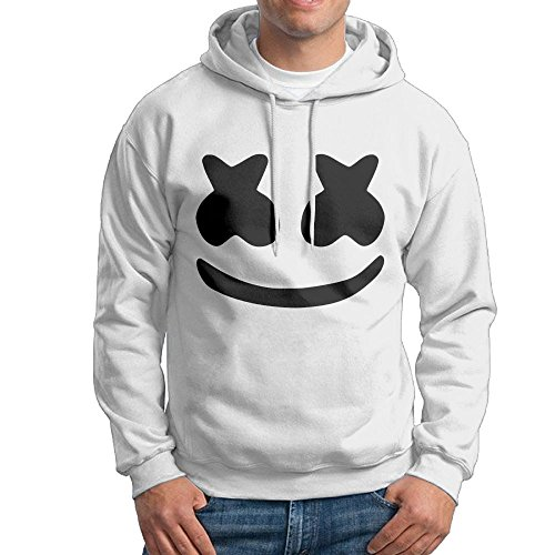 Andy And Reid Marshmello Youth Hoodie for Men White XXL