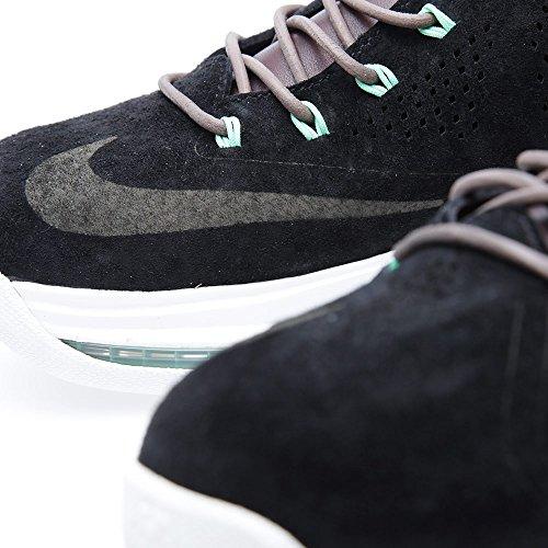 Zapatos de edición limitada Lebron X Ext Qs estilo del deporte del instructor black, black-dk fld brown-trmln