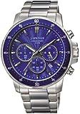 J. Springs - BFC002 - Montre Homme - Quartz Chronographe - Aiguilles lumineuses/Chronomètre - Bracelet Acier Inoxydable Argent