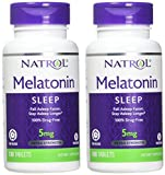 Natrol Melatonin Time Release Tablets, 5mg, 100